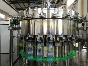 China Scientific Carbonated Drink Filling Machine 250ML - 2L Bottle High Degree Of Automation on sale