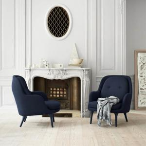 China Fritz Hansen Fri Fiberglass Lounge Chair Scandinavian Style Luxury Furnitures on sale