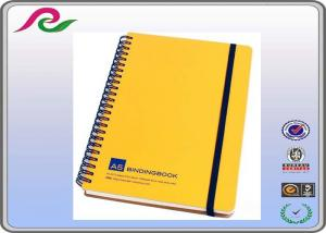 China Customized size and color types of school usage spiral notebooks on sale