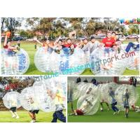 Human Body Inflatable Zorb Ball Soccer With Bubble / Inflatable Loopy Ball
