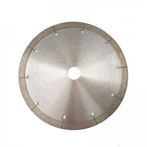China Continuous Rim Diamond Marble Cutting Blade Hot Pressed Sintered Wear Resistance on sale