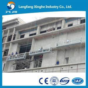 China zlp800 aluminum platform adjustable / india suspended platform / zlp630 mobile scaffolding on sale