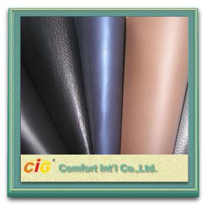 China Glitter Leatherette Fabric 0.8MM PU Synthetic Leather Waterproof and Flame Retardant on sale