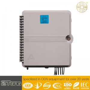 China PC+ ABS Blockless Optical Network Terminal Cassette PLC Splitter Distribution Box on sale