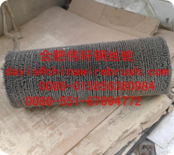Abrasive Nylon Roller Cleaning Brush for sale – Roller Wire