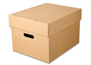 China Corrugated Packaging Kraft Corrugated Boxes Customized Size OEM Service on sale
