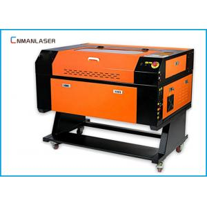 China Mini Portable Desktop Paper Rubber Mobile Phone 50w Laser Cutting Machine 6040 on sale