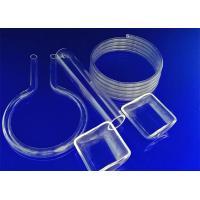 China Semiconductor Fused Silica Rod , Fused Silica Glass Polished Surface Treatment on sale