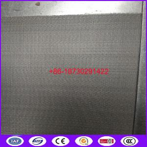 China stainless steel 304 97mm 127mm reversed dutch wire mesh belt  for plastic wire drawing machine on sale