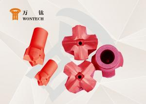 China Geological Exploration Taper Button Bit Steel Easy Operation Corrosion Resistance on sale