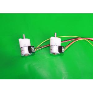 China Step Angle 18° Permanent Magnet Stepper Motor , Industrial Stepper Motor With Gearbox 15BYHJ-POM on sale