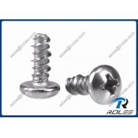 China 18-8/316/ 410 Stainless Steel Philips Pan Head Hi-lo Thread Screw for Plastics on sale