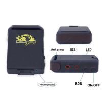 waterproof personal gps tracker with optional cigarettor car charger