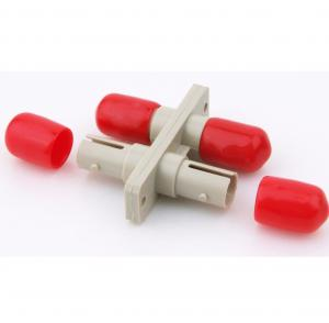 China High Precious Structure Plastic St Fiber Adapter Duplex Optical Fiber Adapter on sale