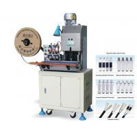 China 2 Pin Plug Wire Cut Strip Crimp Machine for NEMA Plug Type A on sale