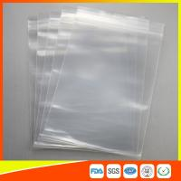 LDPE Ziplock Plastic Resealable Bags For Office Furniture Items , Plastic Storage Bags