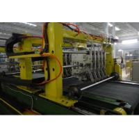 Efficiency Cabinet Door Shell Sheet Metal Forming Line Speed Controlled By Frequency Variation