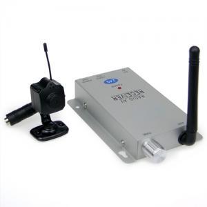 CCTV Surveillance Ultra Mini 24GHz 380 TVL Wireless Camera System