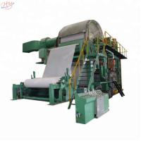 China 3200mm Cylinder 600m/Min Toilet Paper Making Machine on sale