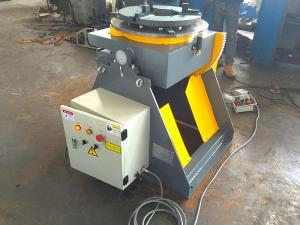 China Welding Turn Table Positioner With 3 Jaws Welding Chuck 2 Direction 90° Tilting on sale