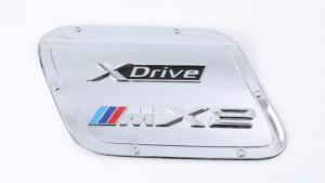 China BMW X2 2018 Fuel Tank Door Cover , Precise Mold ABS Chrome Gas Tank Cover on sale