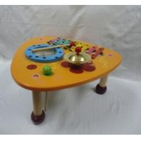 Play House Musical Multifunction Triangle Music Instrument Mix Table Preschool Wooden Toys