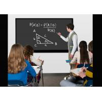 Wall Mounted Classroom Touch Screen , Whiteboard Electronic Smart Board