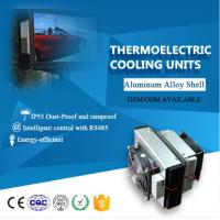 China 12V peltier effect Thermoelectric air conditioner for kiosk Aluminum alloy on sale