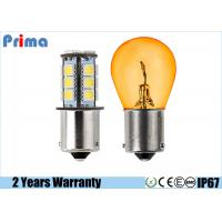 7507 PY21W Led Vanity Light Bulbs 10-15 Watt 10~30 VDC 360 Degree Beam Angle