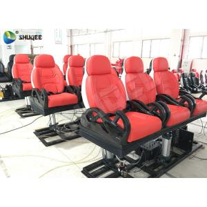 China 3DOF Luxury Black Electronic Chair Movie Theater Equipments Special Effects on sale
