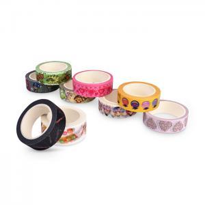 China Reusable Coloured Decorative Masking TapeNo Residue Christmas Decoration on sale