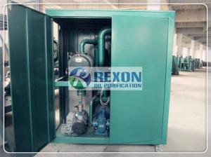 China 50HZ Vacuum Oil Purifier , REXON Fluids Filtering Transformer Oil Treatment Machine on sale