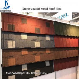 China Kenya Decras Roofing - Stone Coated Steel Roof Shingles Tiles Price on sale