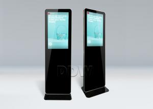 China 42 inch High brightness LCD display Free Standing Kiosk  2000nits / 1500nits DDW-AD4201SN on sale