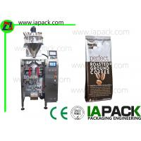 Small Coffee Powder Packing Machine , Vertical Seal Packing Machinery