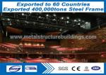China Easy Steel Fabricated Buildings With Single Level Butt Welding Welding Technology wholesale