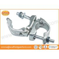 Forged rolling clamp galvanized swivel coupler BS 1139 for 48.3MM tubes
