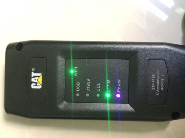Caterpillar cat et wireless adapter 3 diagnostic tool+CAT ET