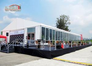 China Aluminum Beautiful Luxury Wedding Tents / 1000 Person Tent Large Capacity on sale