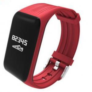 China K1 Smart Band Heart Rate Fitness Tracker Step Counter Activity Monitor Smart Bracele Vibration Wristband for IOS Android on sale