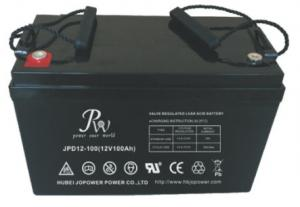 China ABS Sealed Lead Acid Battery 12v 100ah Long Life For Solar Wind Energy Storage on sale