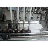 China 1550mm Beer Automatic Liquid Filling Machine Bottle Capping 10ml on sale
