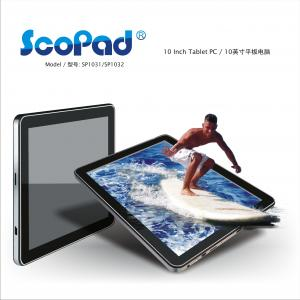 China SCOPAD SP1031/SP1032, 10  inch Tablet PC (Android2.3, Capacitive screen , 1.2Ghz CPU,512MB RAM,8G memory,WIFI,3G, Bluetooth, Camera) on sale