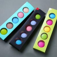 China Elegant Design Drawer Box Packaging , Foldable Macaron Packaging Boxes on sale
