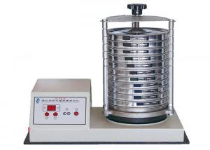 China Sand Sifter Particle Mechanical Sieve Shaker 35W With Amplitude Control System on sale