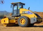 One Drum 18 Tons Road Roller Heavy Construction Equipment ISO SGS CE Certification