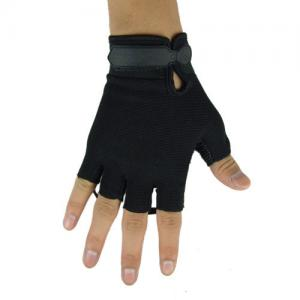 China Black Half Finger Tactical Gloves, Glove,Material Nylon Polymers And Specialty on sale