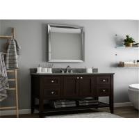 Solid Wood Prima Vanity DIY Bathroom Cabinet For Hotel Project , Guest Room