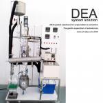 External Condenser Vacuum Distillation Machine / Alcohol Distillation Equipment With Wiper Basket