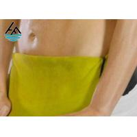 Eco - Friendly Men Neoprene Waist Belt Soft Sweat Belt Customized Thickness